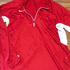 Women's Nike dri-fit pullover size L